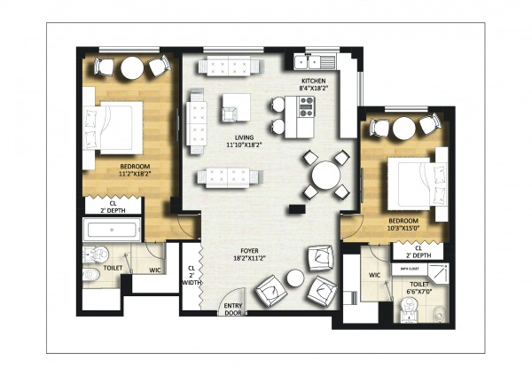Image NYC Apartment Redesign