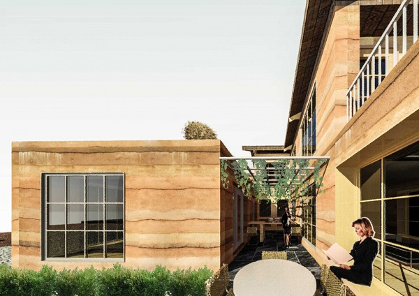 Image Rammed Earth House Adv...