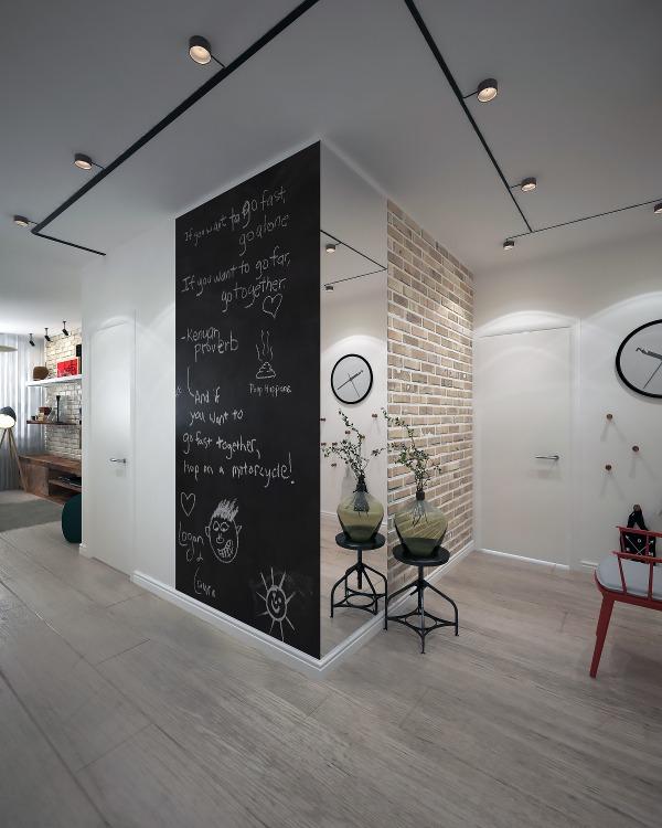 Image Hallway view