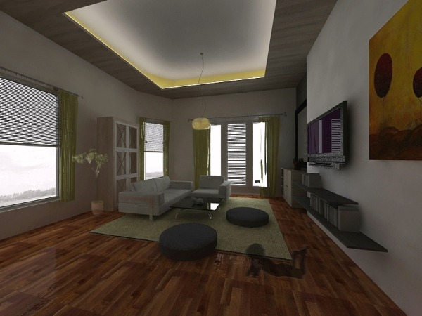 Image Open Concept Living Sp...