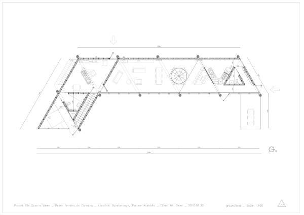 Image house AB_groundfloor plan
