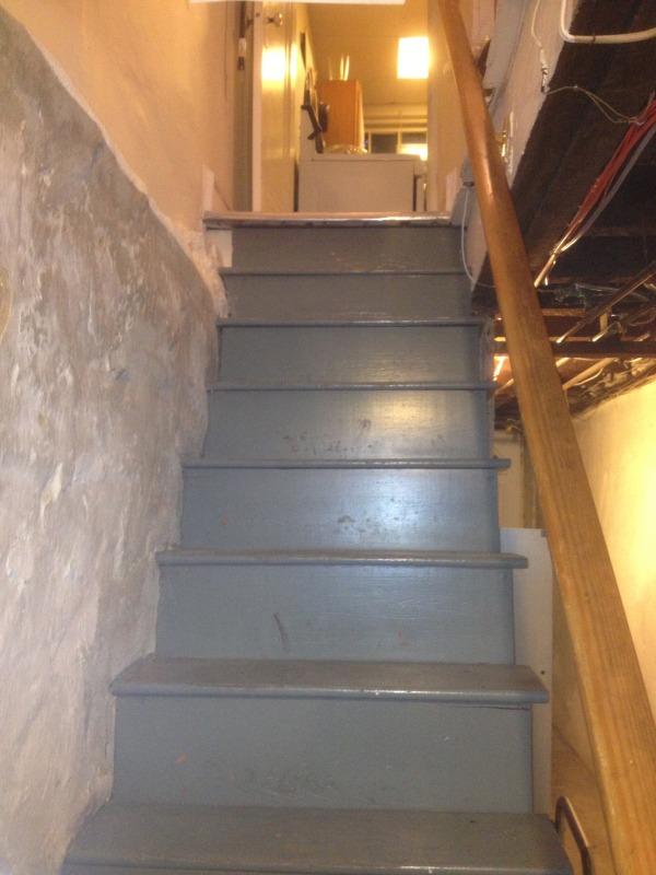 Image Stairway close-up