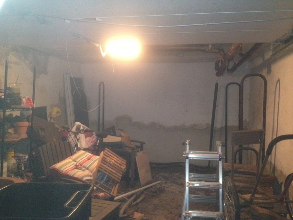 Image Looking into garage fr...