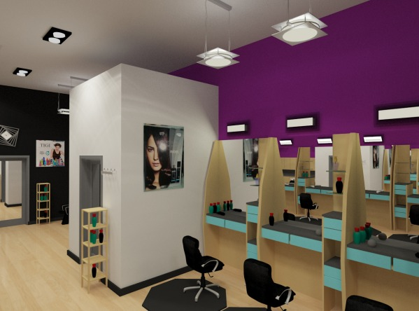 Image Hair Salon Interior De...