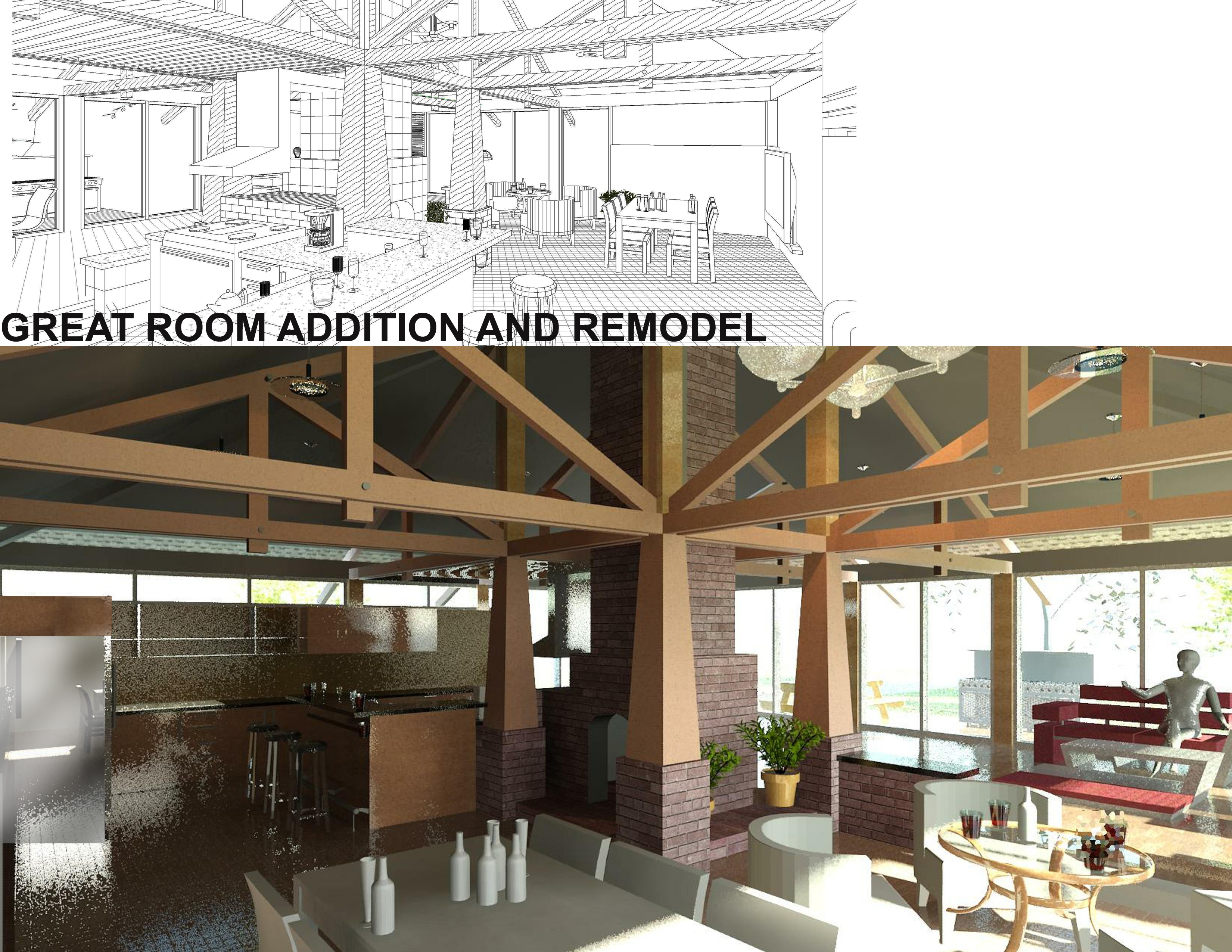 Floor Plans Designed By Dhha Architecture Great Room