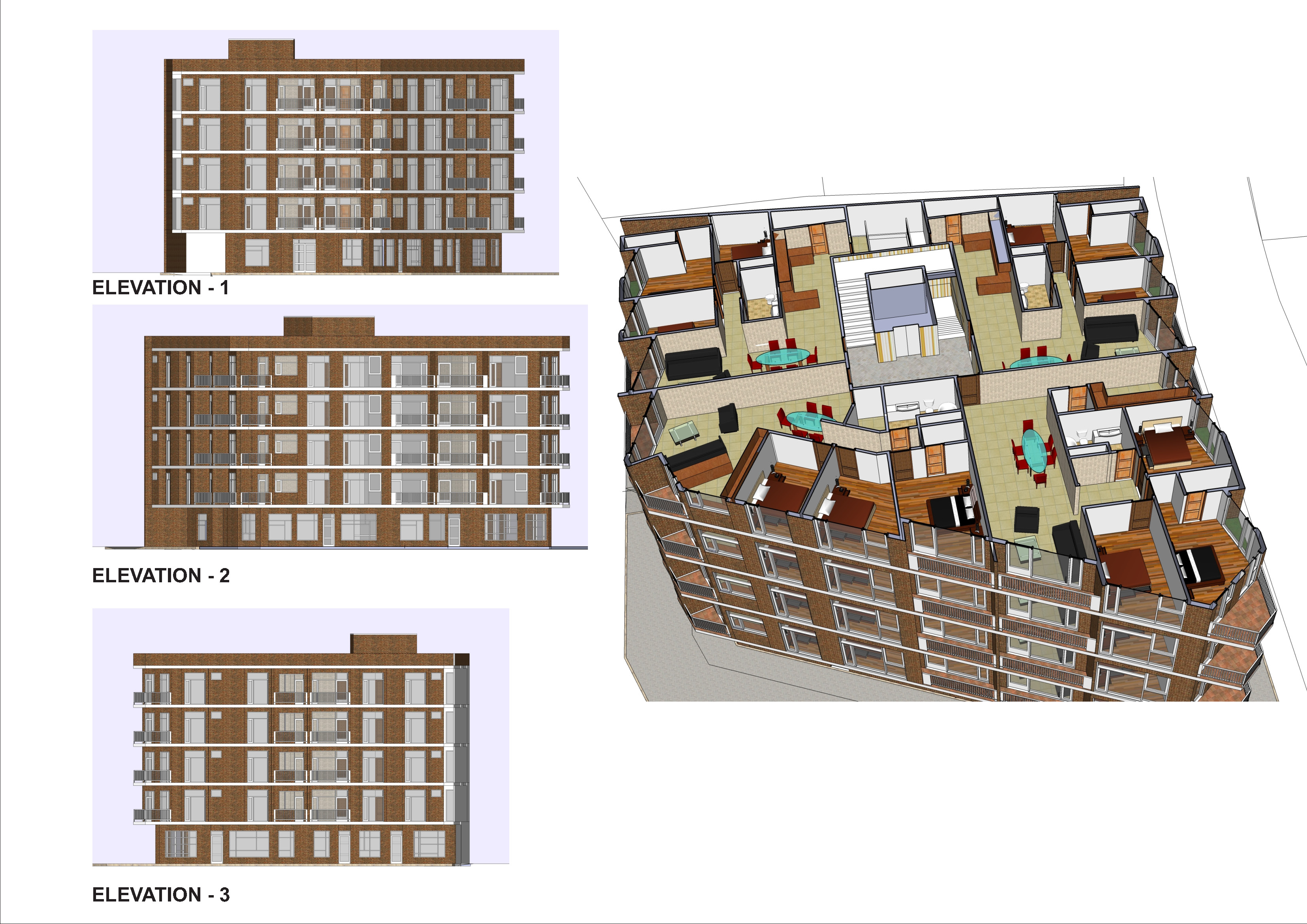 Viewdesignerproject projectapartment for Building project plan