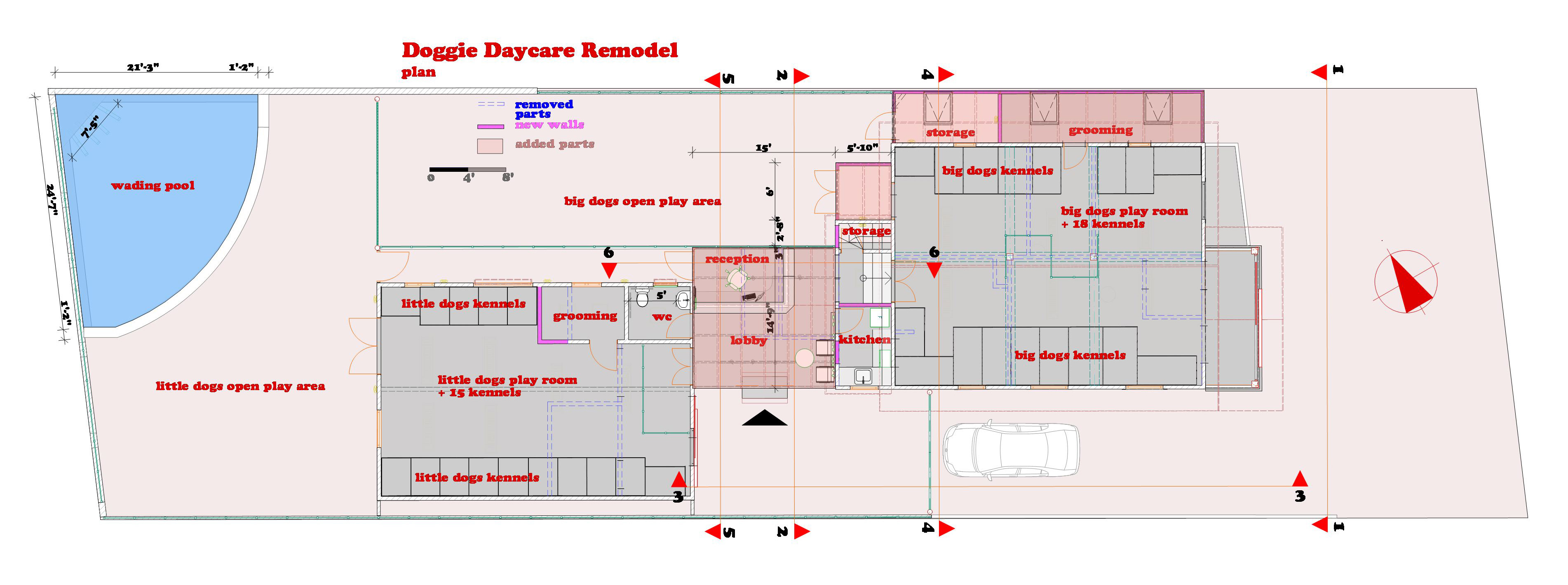 kennel daycare floor plans trend home design and decor