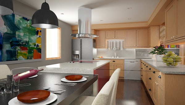 Kitchen - Option2 - View1