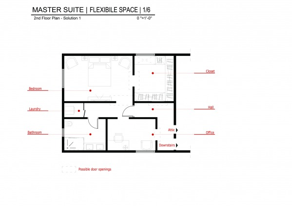 Master Suite | Flexibi...