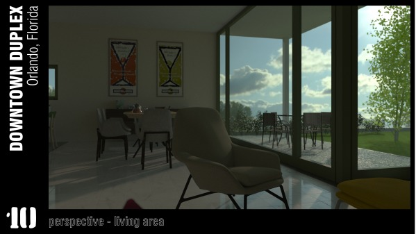 Image perspective - living area