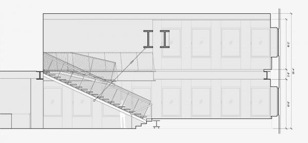 Image suspending stair (1)
