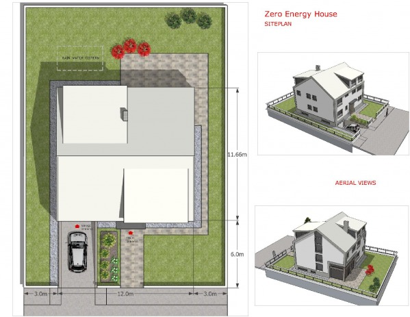 Image Zero Energy House