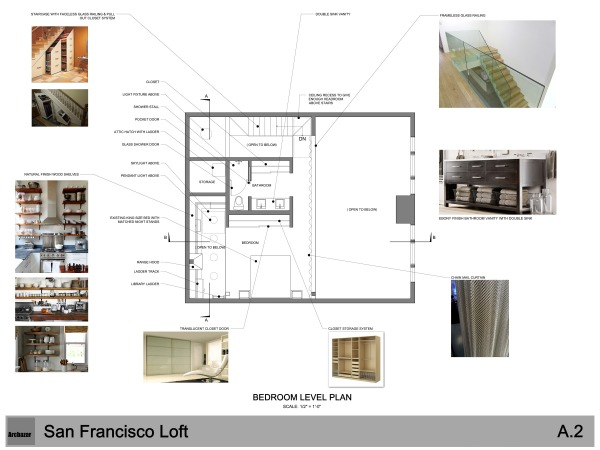 Image A2 - BEDROOM LEVEL PLAN