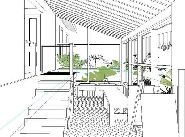The studio/atelier is ...