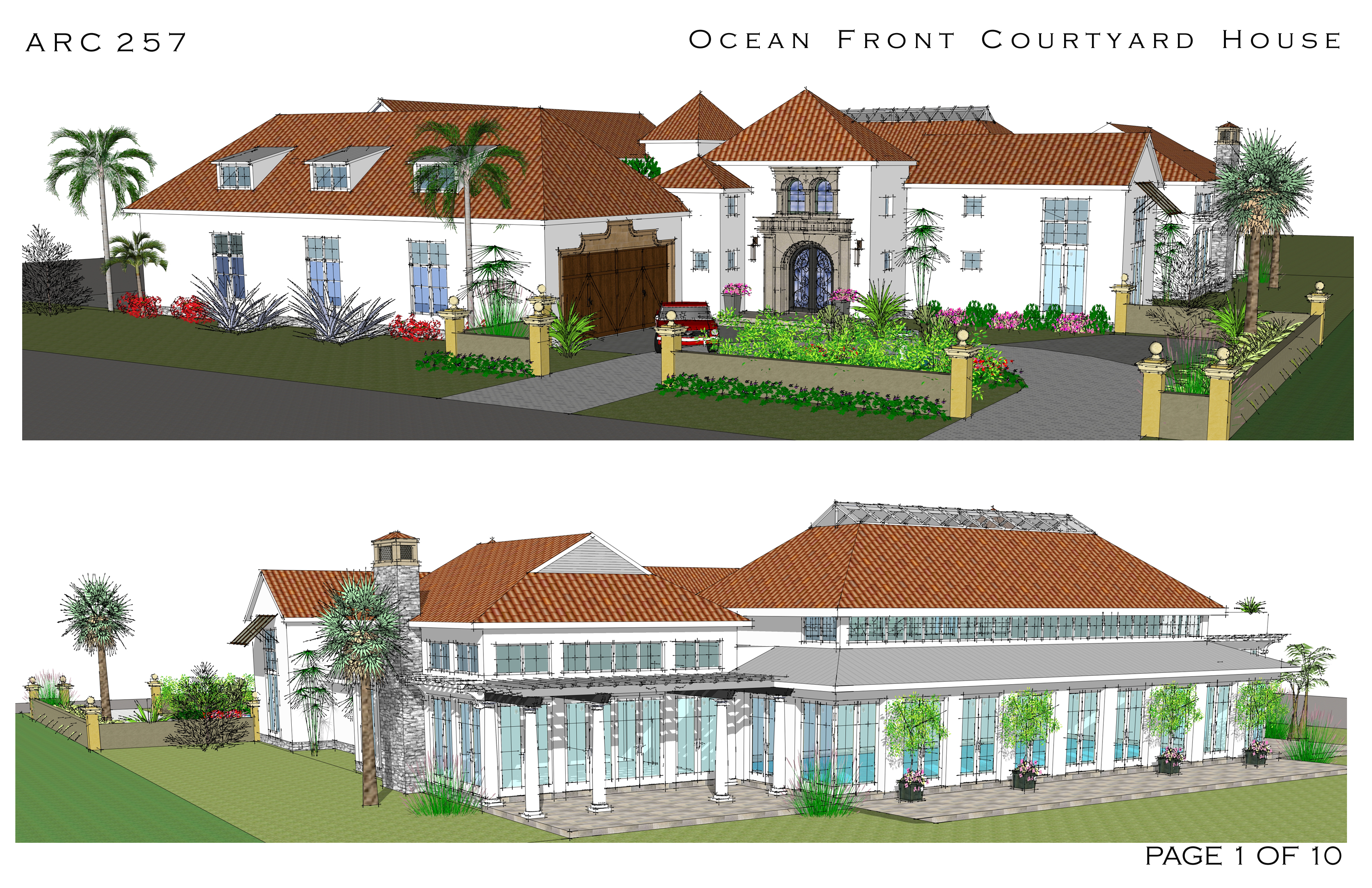 Login arcbazar for Ocean house plans