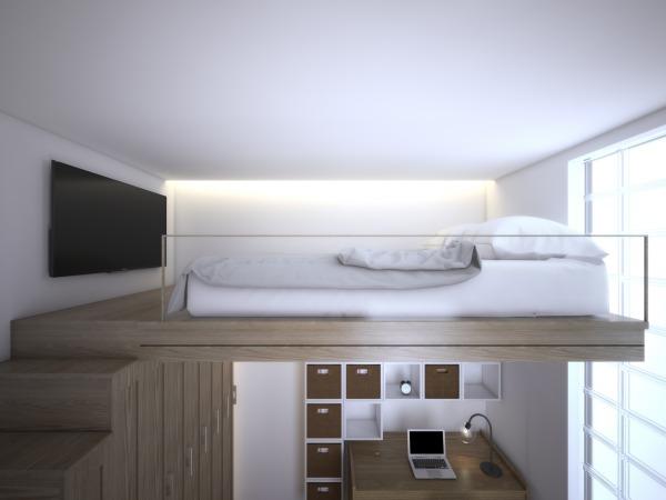 Bed - Mezzanine