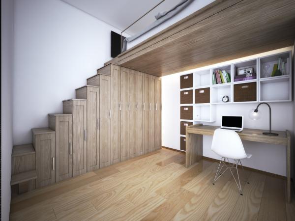 Image Room with Mezzanine