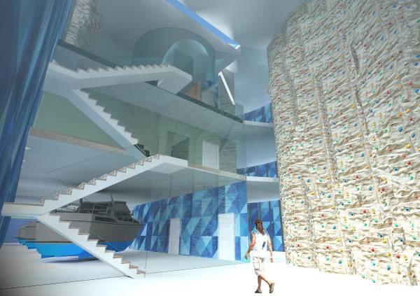 Image Interior Climbing Gym ...