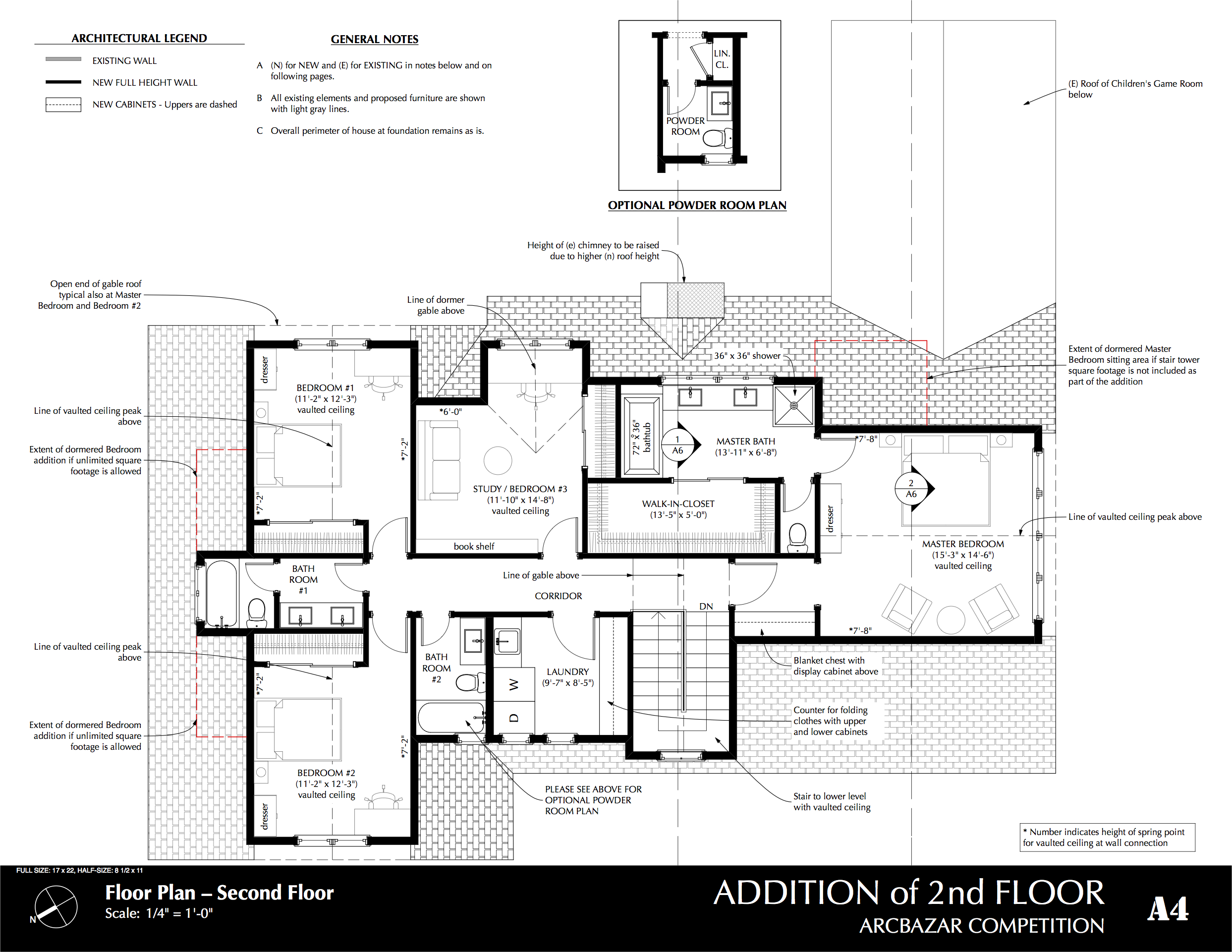 Viewdesignerproject projectadditions plans for Second floor addition floor plans