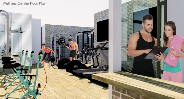 Image Wellness Center Floor ...