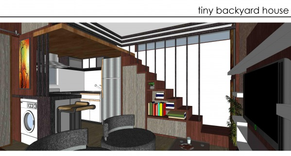 Image BACKYARD TINY HOUSE