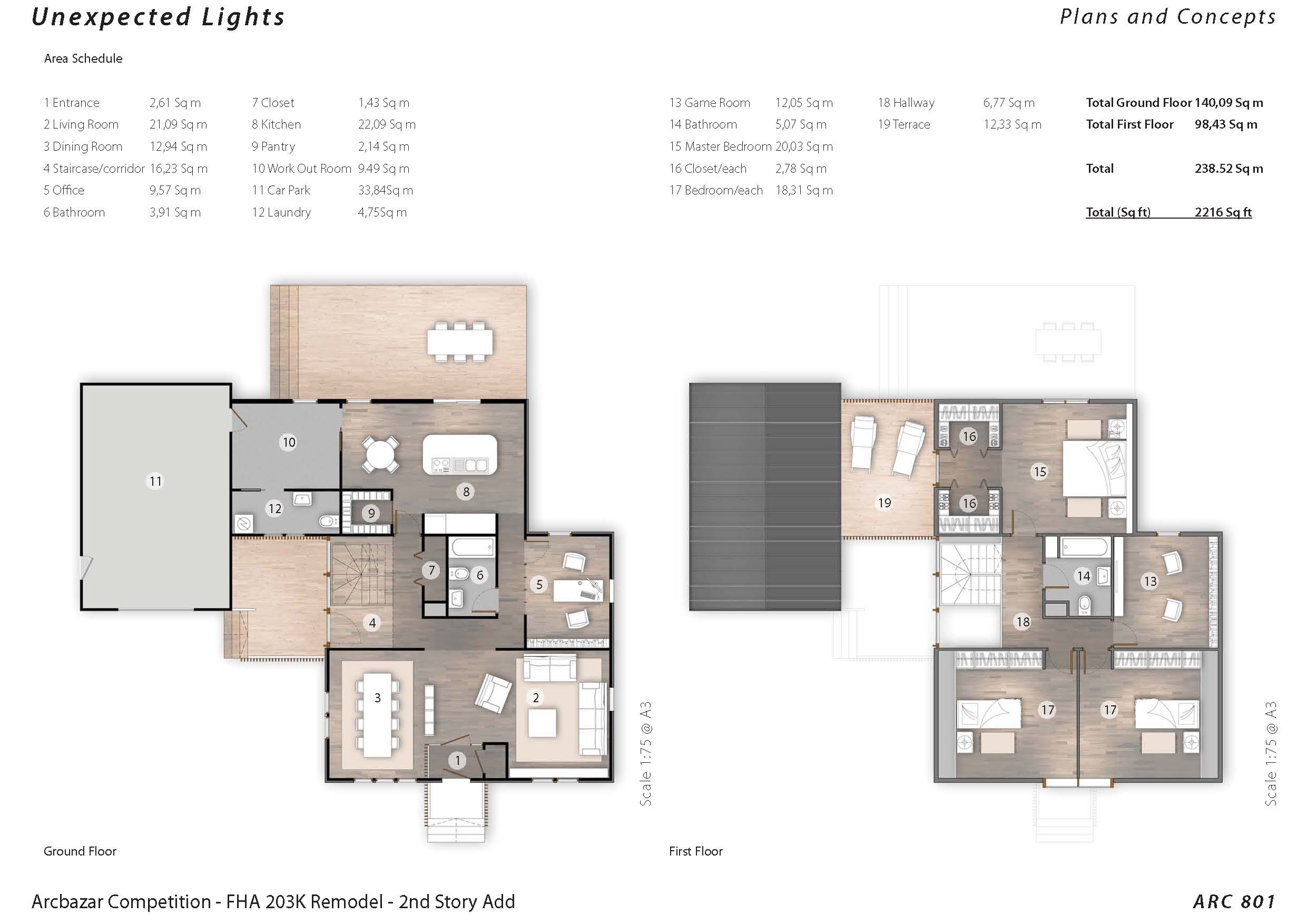 Additions plans designed by csrarchitects fha 203k for Fha house plans