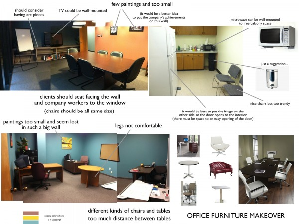 Image Simple office makeover