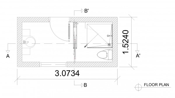 Image FLOOR PLAN BATHROOM