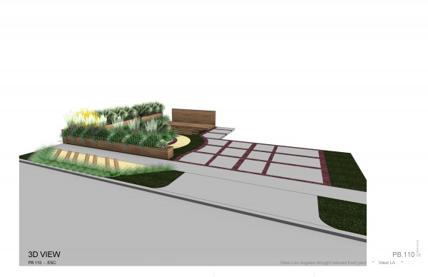 Image 3d view of the proyect...