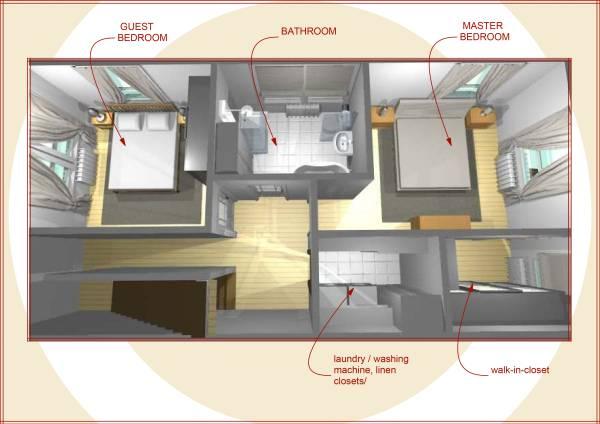 Image Kitchen & Second floor
