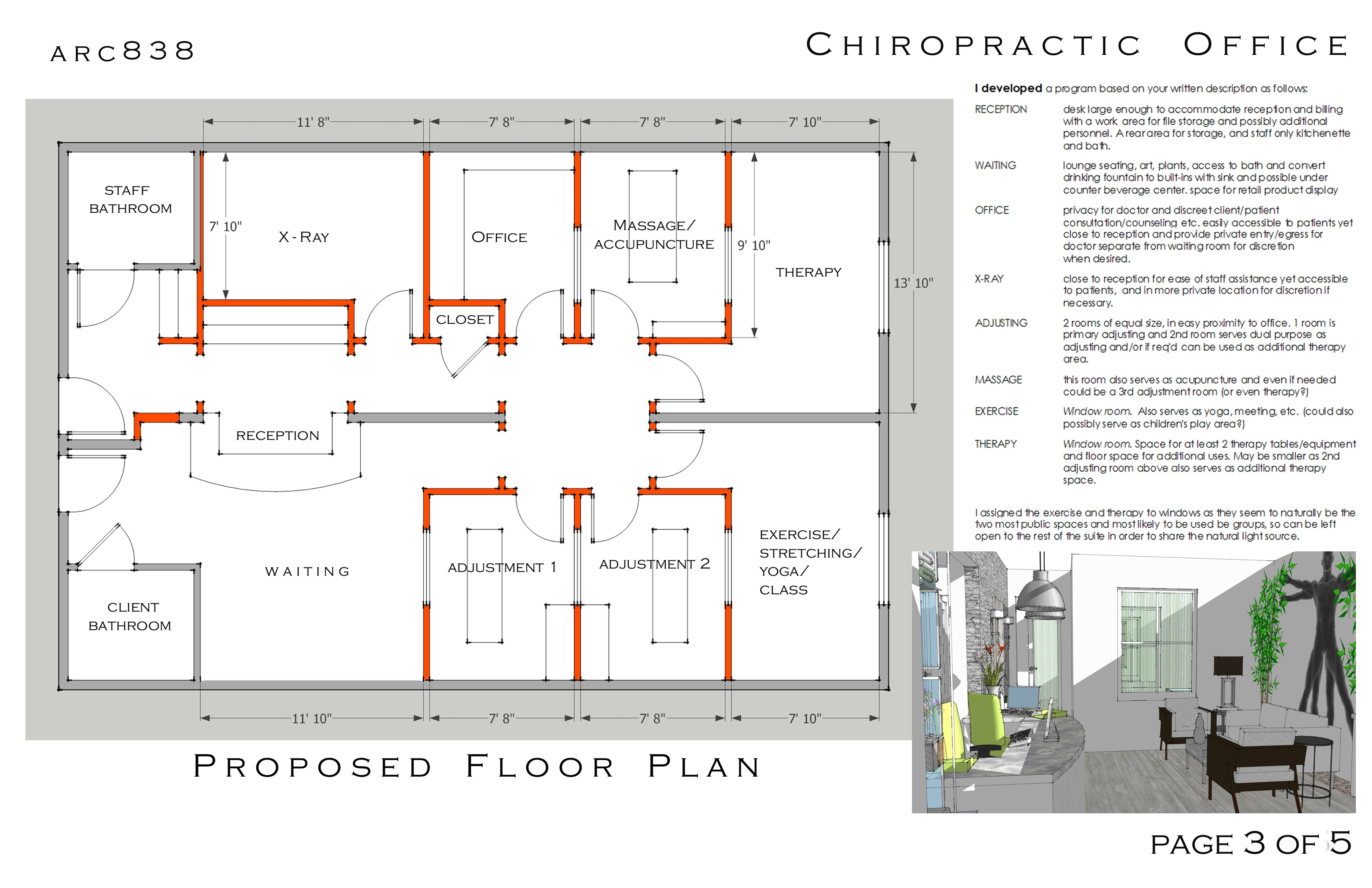 chiropractic office layout joy studio design gallery