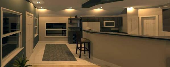 Image Rendering Towards Kitchen