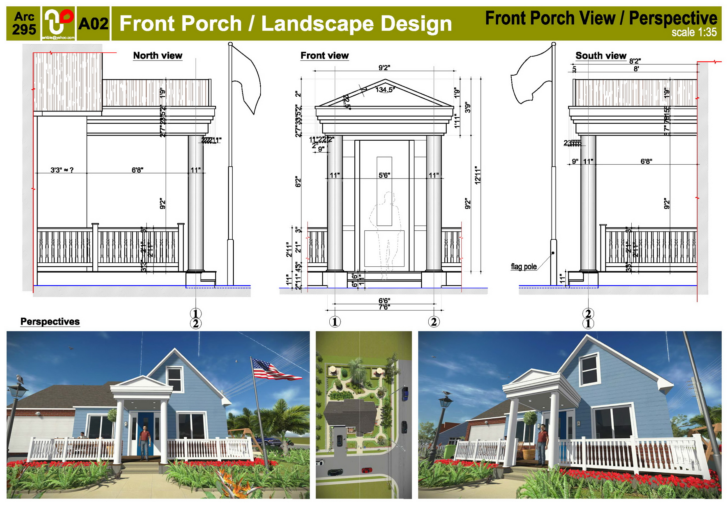 Viewdesignerproject projectfrontyard design for Mississippi landscape architects