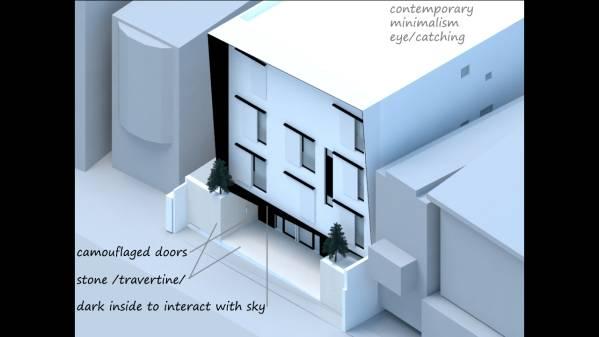 Image TAKANAWA HOUSE Facade ... (1)