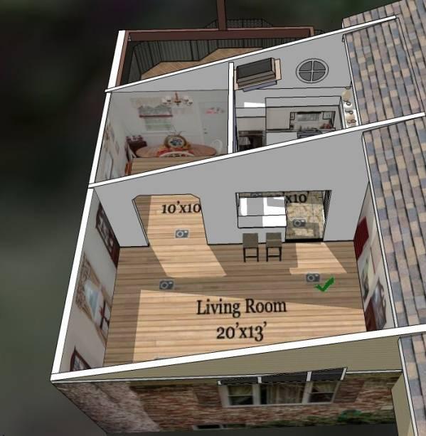 Image 3D plan