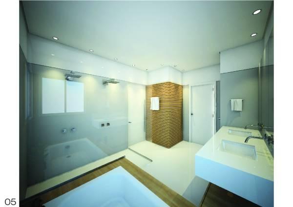 Bathroom designed by henrique zulian bathroom remodel for Bath remodel nashville tn