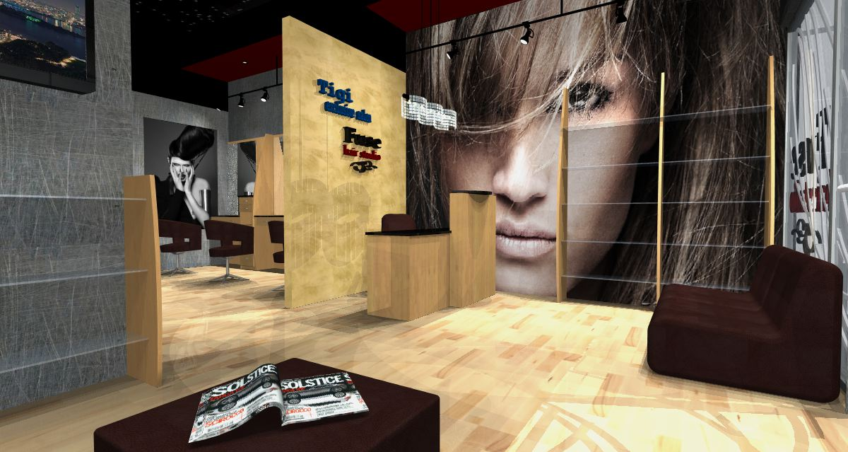 Commercial Building Design Project designed by Marina Dil - Hair