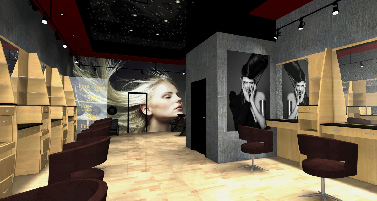 Other designed by marina dil hair salon interior design for Interior stylist