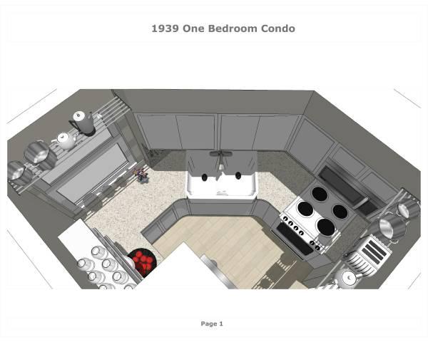 Image 1939 One Bedroom Condo