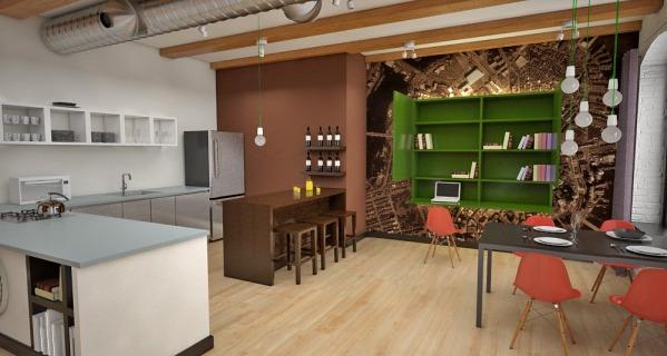 Image Boston Loft Interior