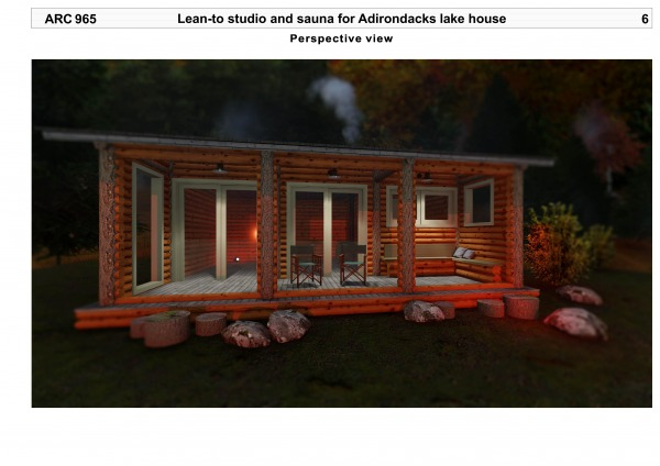 Image Lean-to studio and sau...