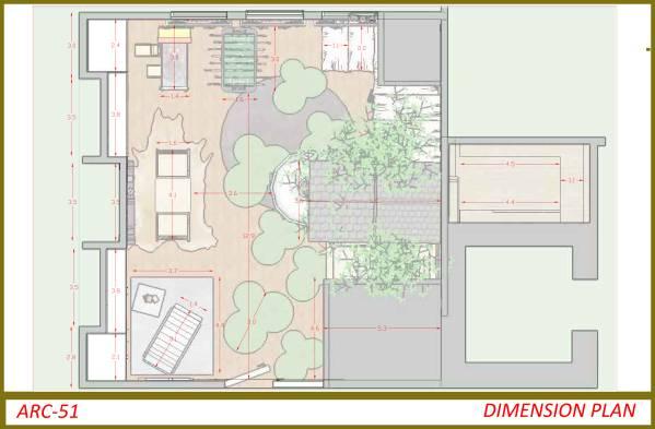 Image dimension plan