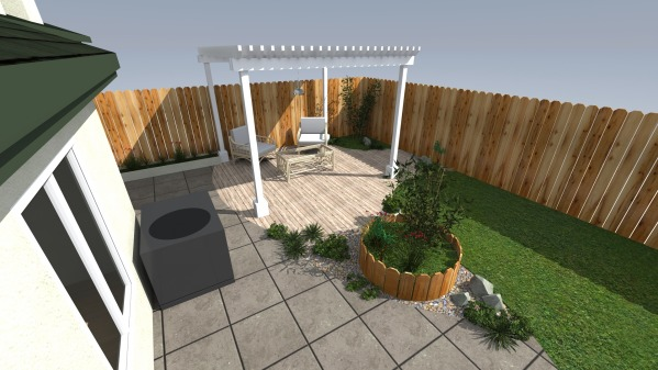 Image Small Backyard Makeover (2)