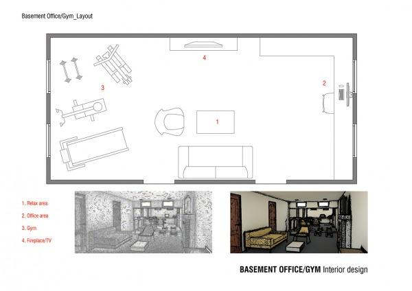 Image Basement Office / Gym (1)