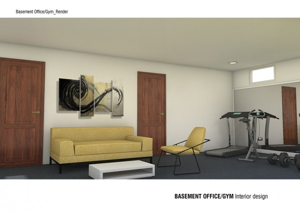 Image Basement Office / Gym (2)