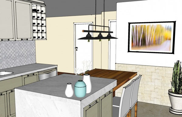 Image Kitchen Open Floorplan