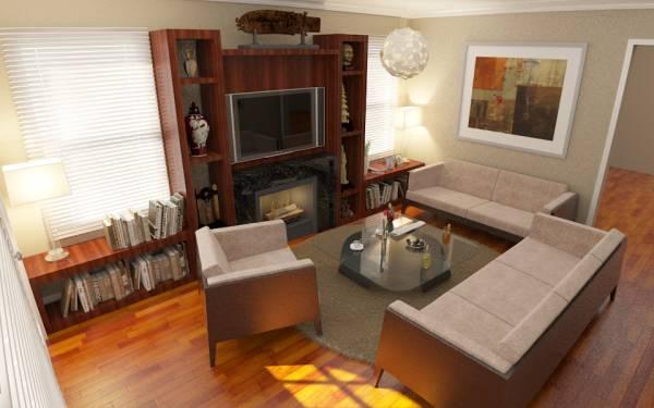 Image Living room remodel
