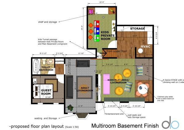 Image Floor plan is zoned wi...