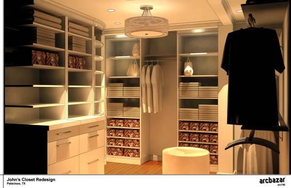 John's Closet Redesign