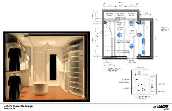 Image John's Closet Redesign